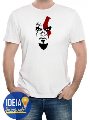 Camiseta Kratos - God of War