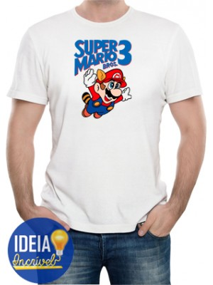 Camiseta Super Mario Bros. 3