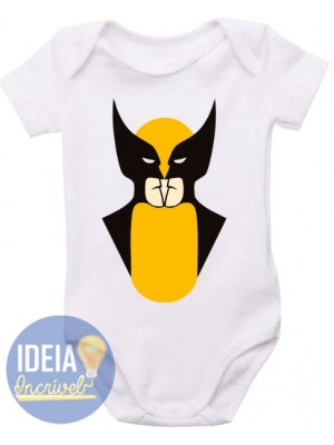 Body Infantil - Wolverine ou Batman?