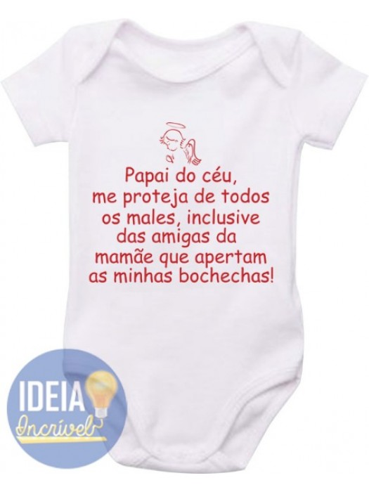 Body Infantil  - Papai do Céu