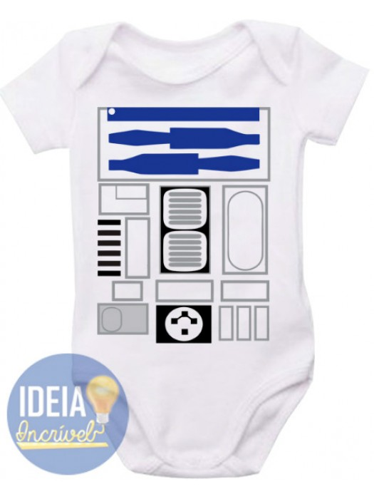 Body Infantil  - R2-D2 (Star Wars)
