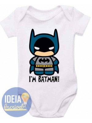 Body Infantil - I'm Batman