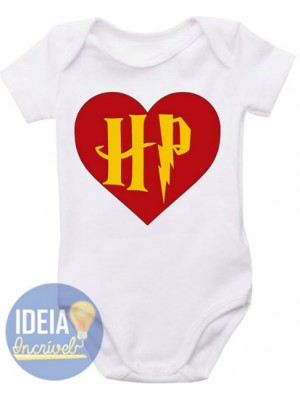 Body Infantil Amo Harry Potter