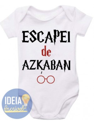 Body Infantil Escapei de Azkaban (Harry Potter)