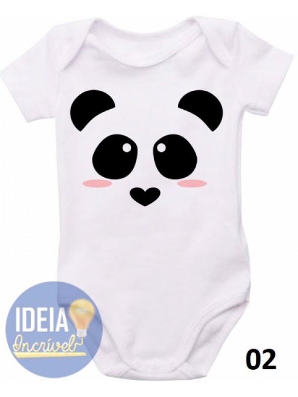 Body infantil - Panda