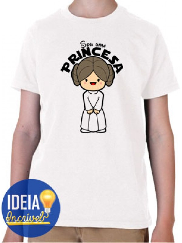 Body Infantil Princesa Leia (Star Wars)
