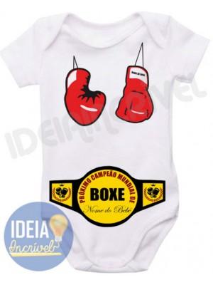 Body Infantil Campeão de Boxe