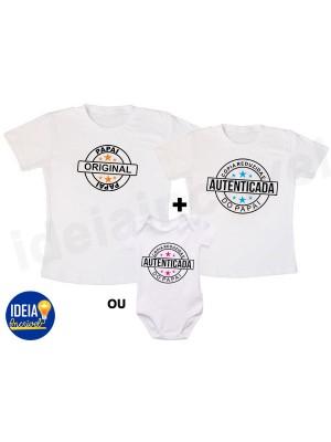 Kit Camiseta - Cópia do Papai