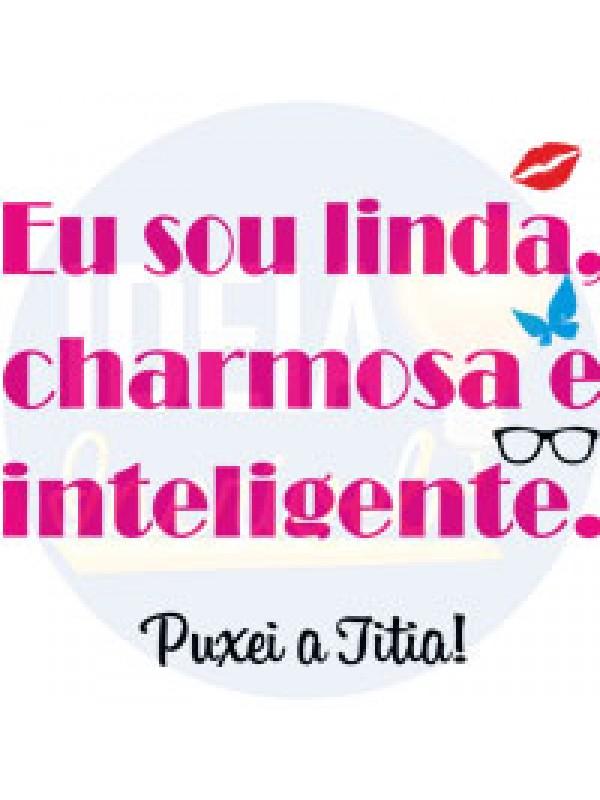 Body Infantil - Linda, Charmosa e Inteligente