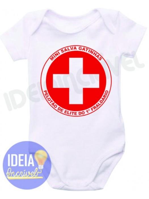 Body Infantil - Salva Gatinhas