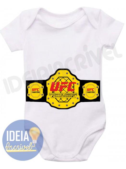 Body Infantil Cinturão UFC