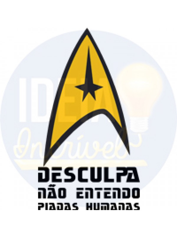 Camiseta Frase Star Trek