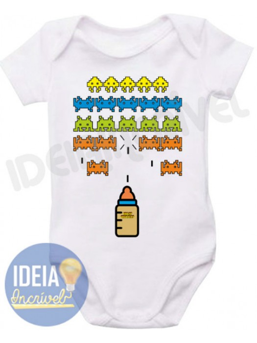 Body Infantil Space Invaders
