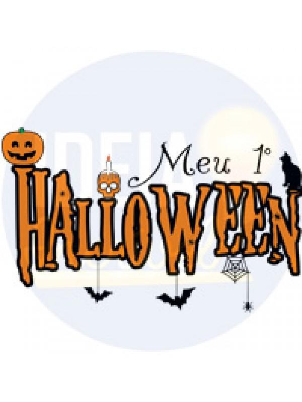 Body Infantil Meu Primeiro Halloween