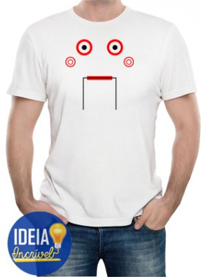 Camiseta Jogos Mortais (Saw)