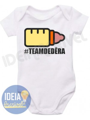 Body Infantil Team Dedêra