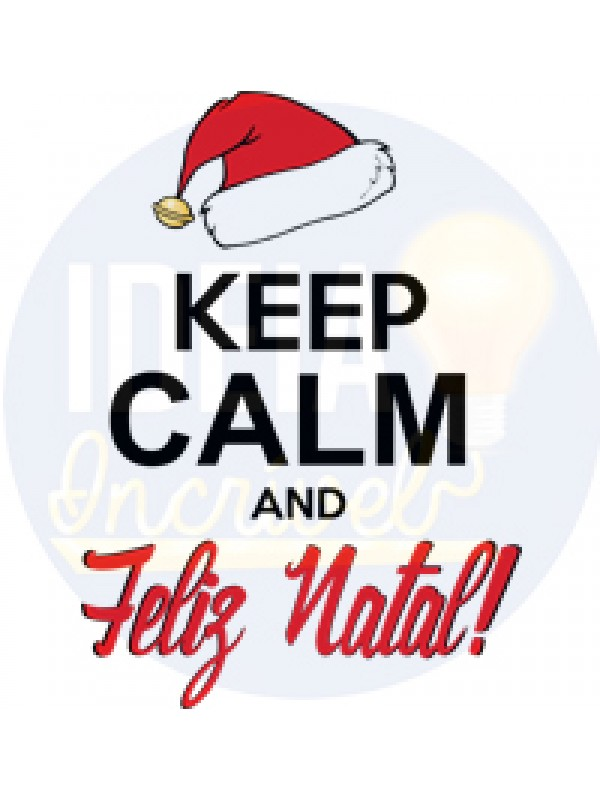 Body Infantil Keep Calm And Feliz Natal