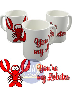 Caneca You're My Lobster