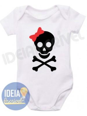 Body Infantil Pirata - Menina
