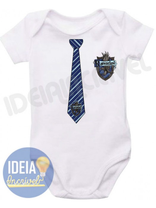 Body Infantil Uniforme Corvinal (Ravenclaw) - Harry Potter