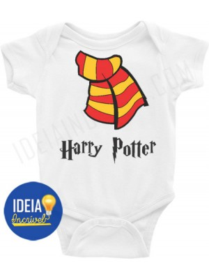 Body Infantil Cachecol Harry Potter