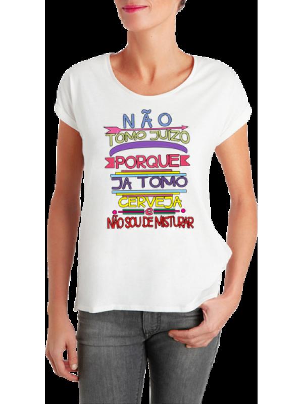 Camiseta Não Tomo Juízo