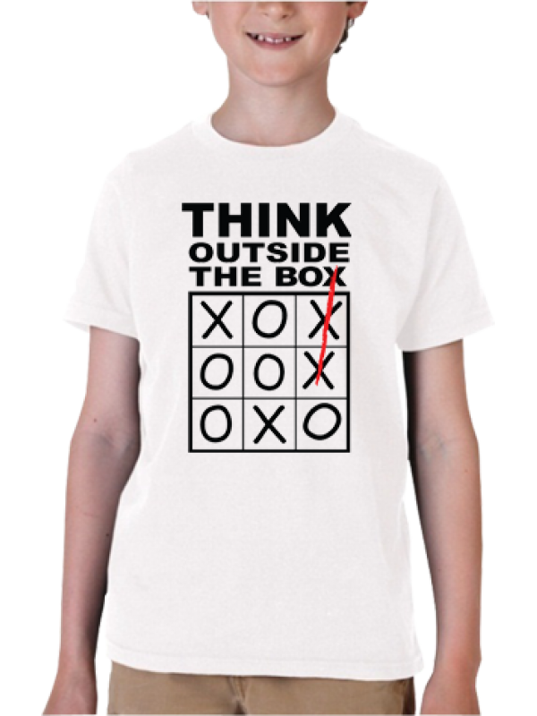 Camiseta Think Outside The Box