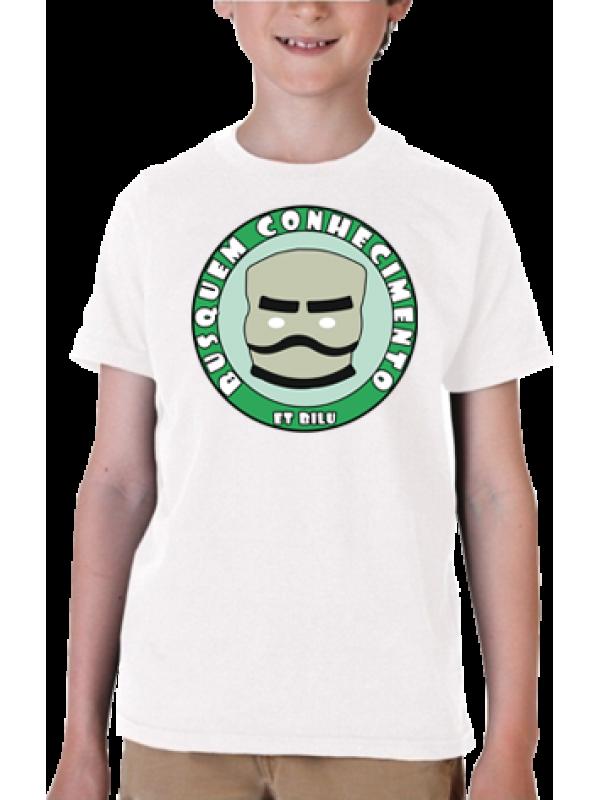 Camiseta Busquem Conhecimento (ET Bilu)