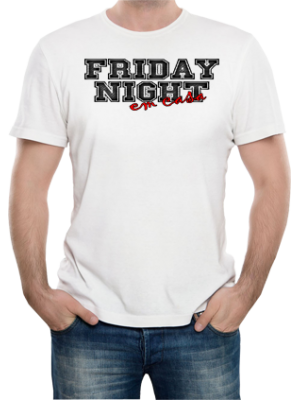 Camiseta Friday Night em Casa
