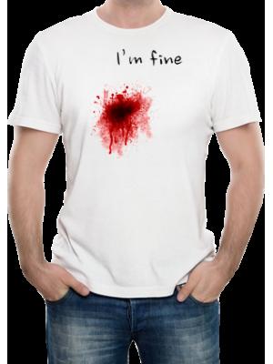 Camiseta I'm Fine