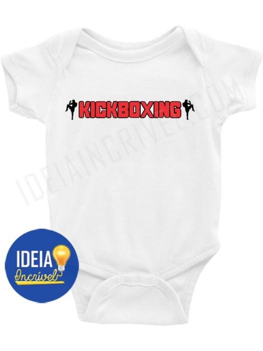 Body Bebê Infantil Kickboxing