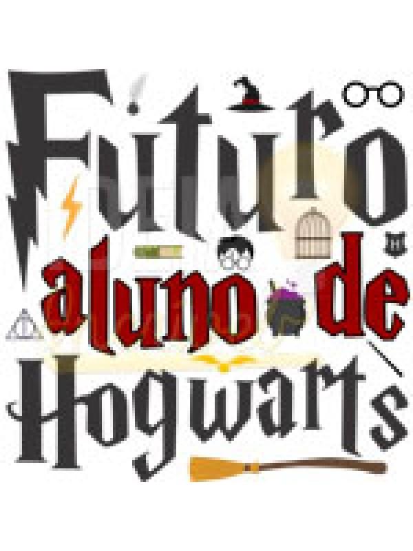 Body Bebê Infantil Futuro Aluno de Hogwarts (Harry Potter)