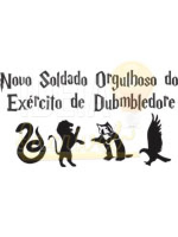 Body Bebê / Infantil - Novo Soldado Orgulhoso do Exército de Dumbledore