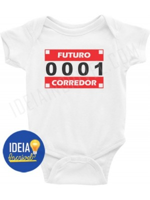 Body Bebê / Infantil - Futuro Corredor (MOD.2)