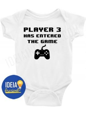 Body Infantil / Bebê - Player 3 Has Entered The Game (MOD.2)