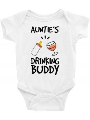 Body Infantil / Bebê - Aunties Drinking Buddy