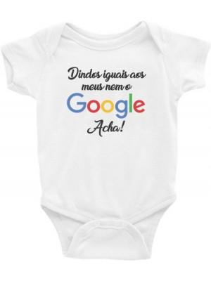Body Infantil / Bebê - Dindos Iguais aos Meus Nem o Google Acha