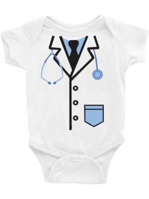 Roupa Body Infantil / Bebê - Futuro doutor, médico