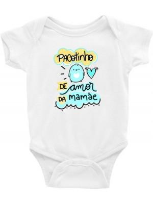 Roupa Body Infantil / Bebê - Pacote de Amor da Mamãe