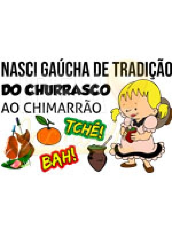 Roupa Body Infantil / Bebê - Gaúcha, Gauchesca, Gauchinha, Prenda