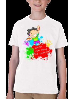 Camiseta Menino Virado Num Móio de Coentro