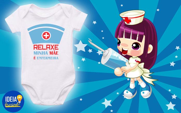Body Infantul - Mãe Enfermeira